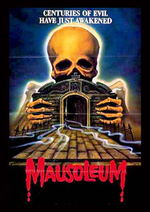 "Mausoleum - Centuries of Evil 4x5"" Movie Color Patch"