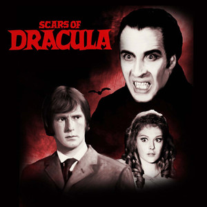 "Scars of Dracula 4x4"" Movie Color Patch"
