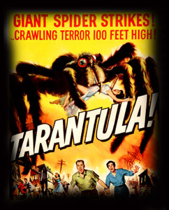 "Tarantula - 100 Feet High 4x5"" Movie Color Patch"