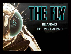 "The Fly - Be Afraid 5x4"" Movie Color Patch"