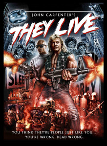 "They Live - Dead Wrong 4x5"" Movie Color Patch"