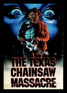 "The Texas Chainsaw Masacre 4x5"" Movie Color Patch"