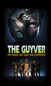 "The Guyver - Pure Superpower 4x5"" Movie Color Patch"