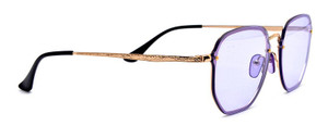 Rough Edges Oversized Colorful Sunglasses