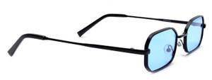 Rough Edges Shorter Lens Colorful Sunglasses