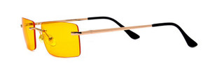 Upside Down Trapezoid Lens Shaped Sunglasses