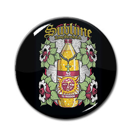 "Sublime - 40oz 1"" Pin"