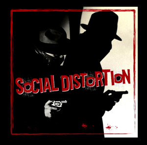 "Social Distortion - Shadows 4x4"" Color Patch"