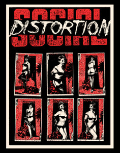 "Social Distortion - Lingerie Lady 3.5x5"" Color Patch"