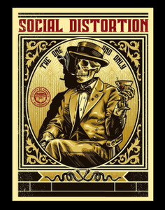 "Social Distortion - The One and Only 3.5x5"" Color Patch"