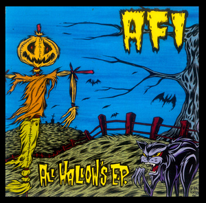 "A.F.I. - All Hallows EP 4x4"" Color Patch"