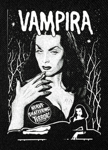 "Vampira - Nerve Shattering 3.5x5"" Printed Patch"