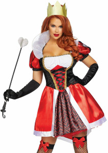 Queen of Hearts - Alice in Wonderland Costume