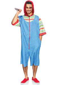 Chucky Jump Suit Costume