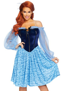 The Little Mermaid's Ariel Peasant Costume