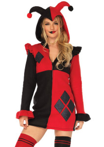 Harley Quinn Hoodie Night Wear and Costume