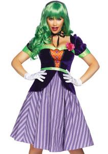 Girl Joker from DC Halloween Costume