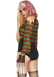 Freedy Krueger Women's Costume