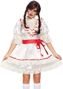 anabelle Haunted Creepy Doll Costume