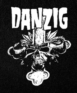 "Danzig Cross 4x4"" Printed Patch"