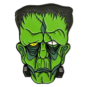 Monster Frankenstein Enamel Pin