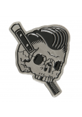 "Slick To Death .90 x 1.25"" Enamel Pin"