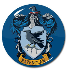 "Harry Potter - Ravenclaw House Crest 1.5"" Pin"