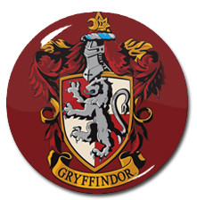 "Harry Potter - Gryffindor House Crest 1.5"" Pin"