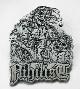 "Nihilist - Zombies 1.5"" Metal Badge Pin"