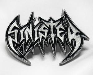 """Sinister - Logo 2"""" Metal Badge Pin"""