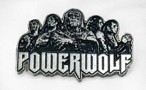 "PowerWolf 2"" Metal Badge Pin"