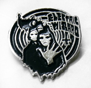 "Electric Wizard - Witches 1.7"" Metal Badge Pin"