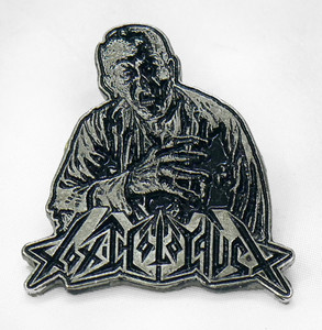 "Toxic Holocaust - Zombie 2"" Metal Badge Pin"