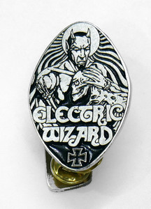"""Electric Wizard - Devil 2"""" Metal Badge Pin"""