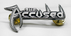 "The Accused - Logo 2"" Metal Badge Pin"