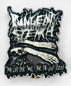 "Pungent Stench - Corpse Color 2"" Metal Badge Pin"