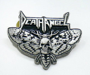 "Death Angel - Moth 2"" Metal Badge Pin"