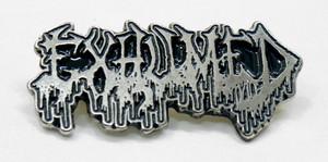 "Exhumed - Logo 2"" Metal Badge Pin"