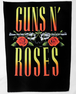 "Guns N' Roses - Logo 13.5"" x 10.5"" Color Backpatch"