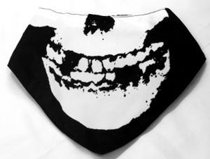 Misfits Skull Face Mask Type Bib