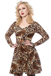 Leopard on The Prowl Dress