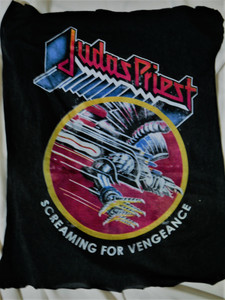 Judas Priest - Screaming for Vengeance - Test BackPatch