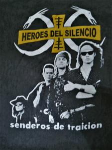 Héroes del Silencio - Senderos de Traición - Test BackPatch
