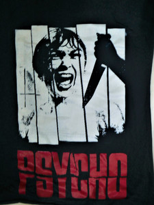 Psycho - Horror Movie - Test BackPatch