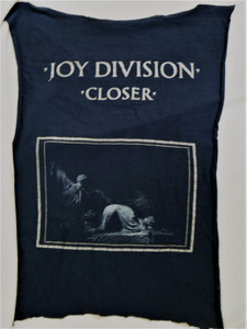 Joy Division - Closer- Test BackPatch