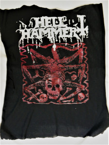 Hellhammer - Red Skull - Test BackPatch