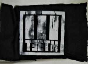 3Teeth - Gray Logo - Test BackPatch