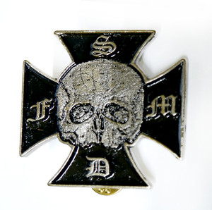 Black Label  Society - Logo - Metal Badge Pin