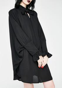 Thebe Chiffon Romantic Dress Blouse