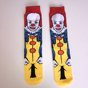 IT'S Pennywise 1990 Tim Curry Unisex Socks